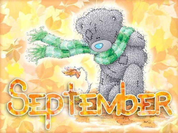 September - Diamond Painting Kit
