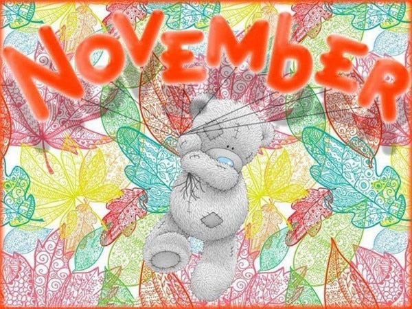 November - Diamond Painting Kit