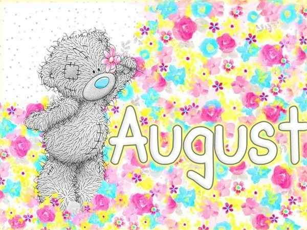 August - Diamond Painting Kit