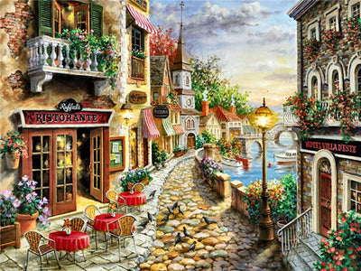 Lake Como Italy - Diamond Painting Kit