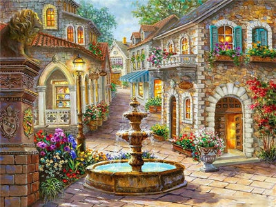 Charming Village - Diamond Painting Kit