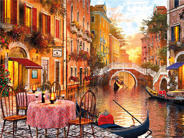 Venice Apertivo - Diamond Painting Kit