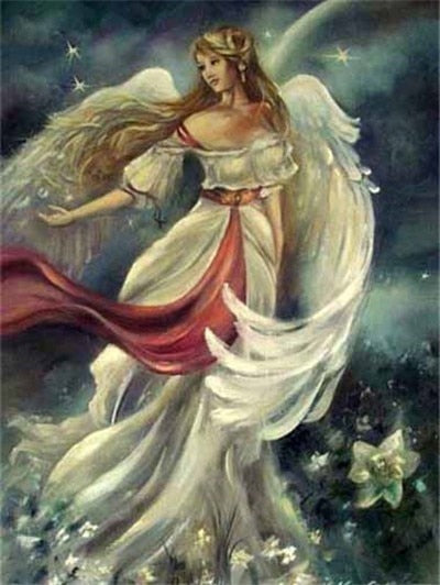 Woman Angel - Diamond Painting Kit