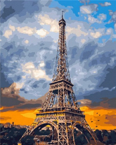 Grand Eiffel Tower - Paint By Numbers Kit