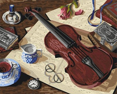 Violin - Paint By Numbers kit