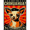 Obey the Chihuahua - Diamond Painting Kit