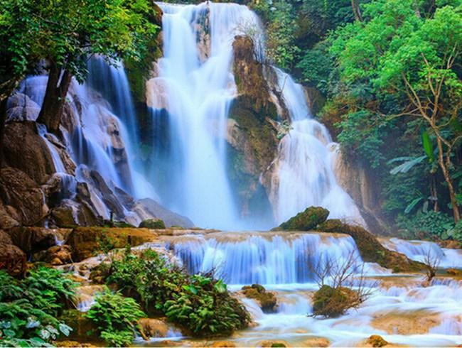 The Waterfall - Diamond Painting Kit