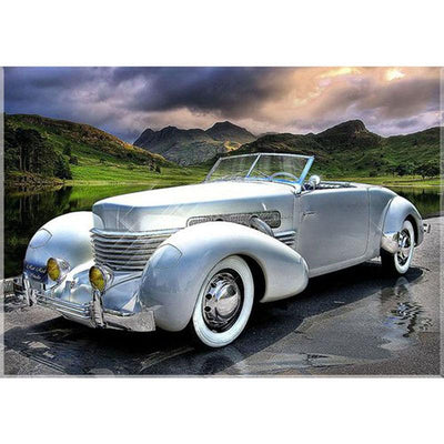 1937 Cord 812 Convertible - Diamond Painting Kit