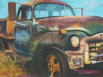 Old Cars - Diamond Painting Kit