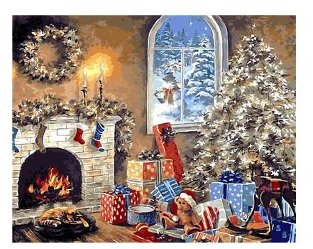 Christmas Decoration - Paint By Numbers Kit