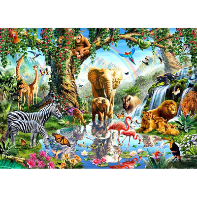 Zoo Family - Diamond Painting Kit