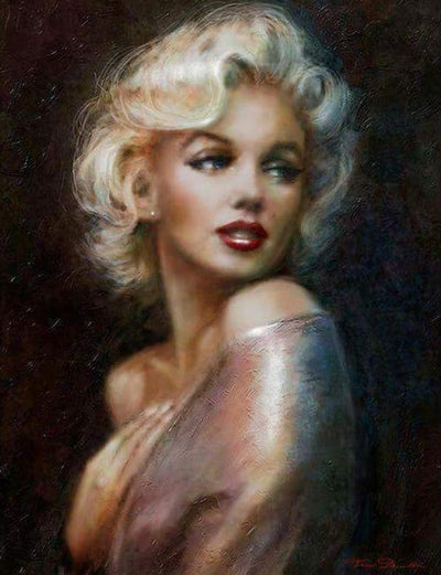 Marilyn Monroe - Diamond Painting Kit