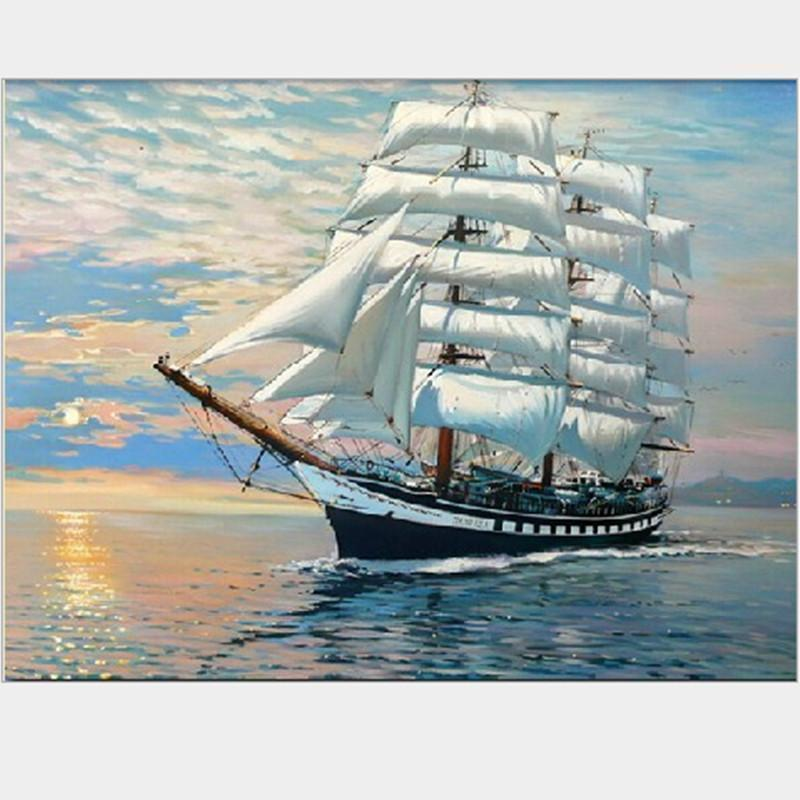 Ocean Ship - Paint By Numbers Kit