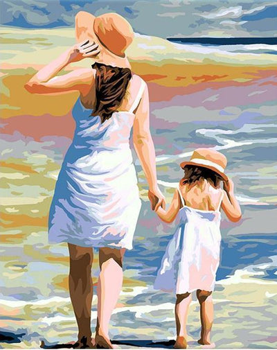 Day At The Beach - Paint By Numbers Kit
