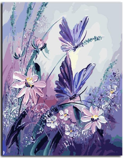 Butterflies - Paint By Numbers Kit
