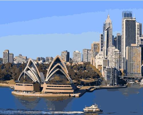 Sydney Opera House - Paint By Numbers Kit