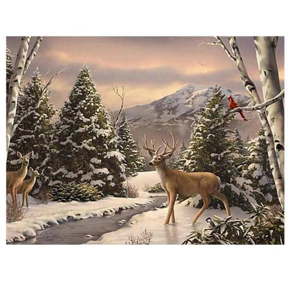 Winter Beauty - Diamond Painting Kit