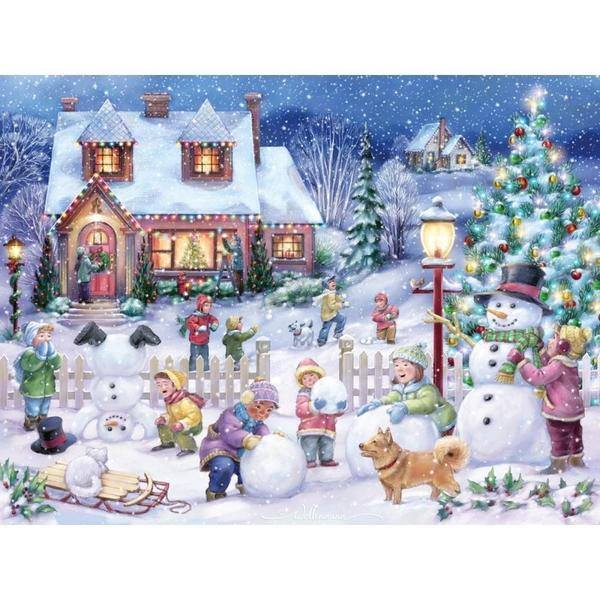 Christmas Eve - Diamond Painting Kit