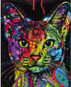 Colorful Kitty - Paint by Numbers Kit