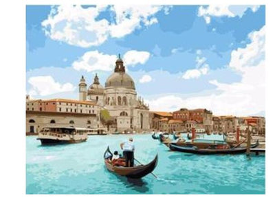 Venice Seascape - Paint By Numbers Kit
