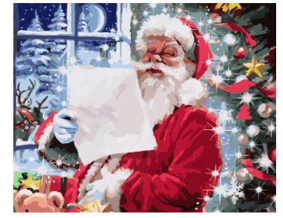 Letter to Santa Claus - Paint By Numbers Kit