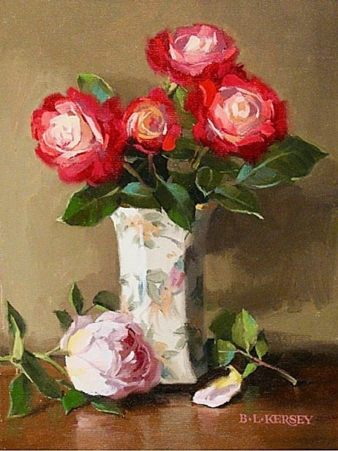 Flowers in Vase 7 - Diamond Painting Kit