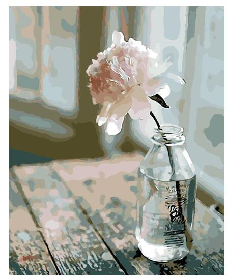 Lonely Rose - Paint by Numbers Kit