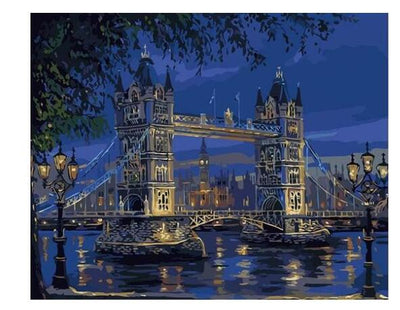 London Tower Bridge - Paint By Numbers Kit