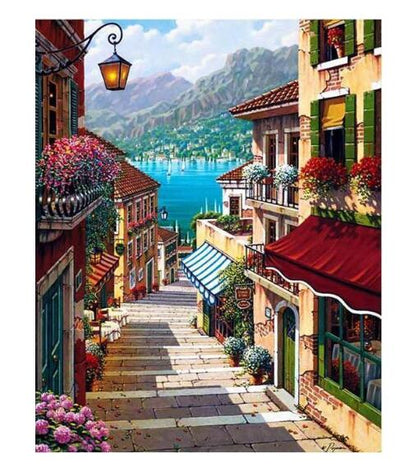 Lake Como - Paint By Numbers Kit