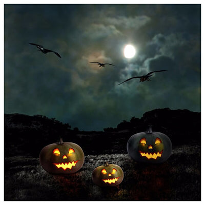 Halloween Pumpkins - Diamond Painting Kit