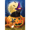 Halloween Black Cat - Diamond Painting Kit