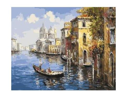 Venice Gondola - Paint By Numbers Kit