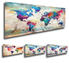World Maps - Diamond Painting Kit