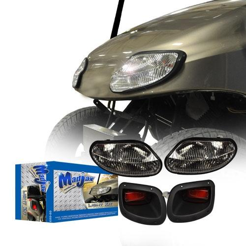 Madjax Basic Light Kit - Fits EZGO T48