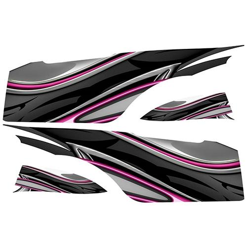 Madjax Club Car Precedent Pink Carbon Custom Body Graphic Set