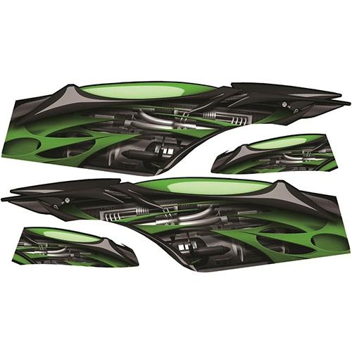 Madjax Club Car Precedent Green Jet Custom Body Graphic Set