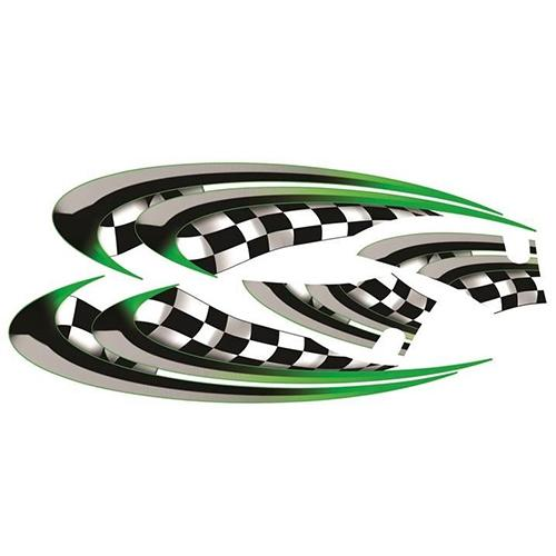 Madjax Yamaha G29/DRIVE Green Race Custom Body Graphic Set