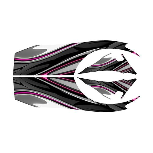 Madjax Club Car DS Pink Carbon Custom Body Graphic Set