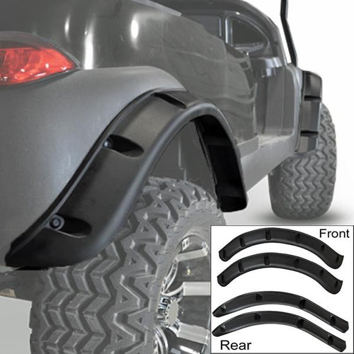 Club Car Precedent GTW Fender Flares (Fits 2004-Up)