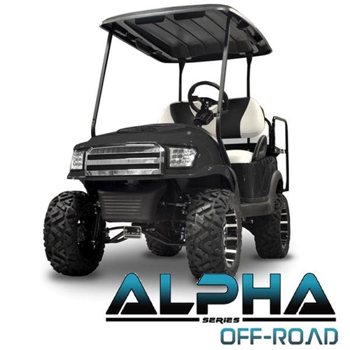 Club Car Precedent ALPHA Off-Road Front Cowl Kit in Black (Fits 2004-Up)