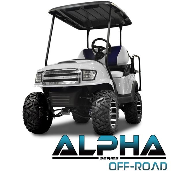 Club Car Precedent ALPHA Off-Road Front Cowl Kit in White (Fits 2004-Up)