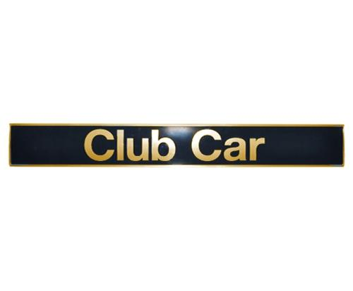 Club Car Precedent Replacement Nameplate (Fits 2004-Up)