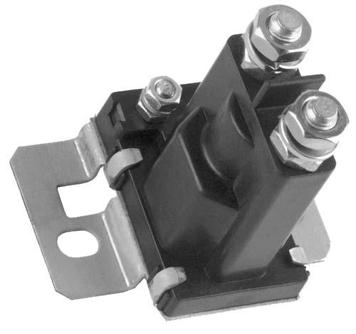 Solenoid, 36V 4P, silver CC E 97-up DS