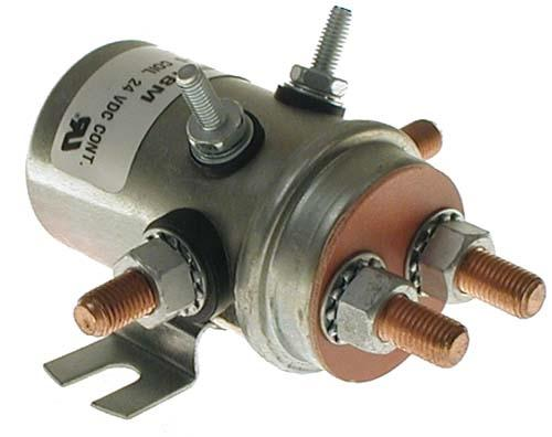 Solenoid, 24V 6P, copper