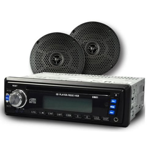 Madjax Multimedia Receiver Radio w/ 6 inch Speakers