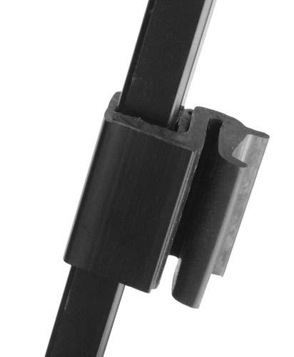 Windshield top clips 3/4""