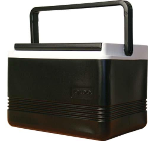 COOLER, 12 QT. BLACK