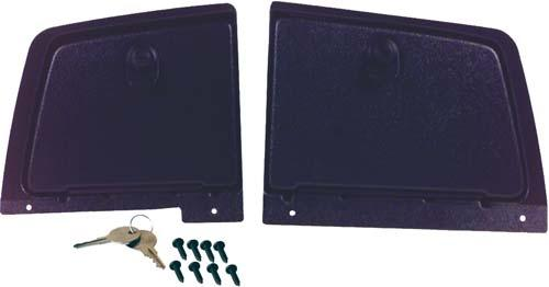 GLOVE BOX SET, YA G14-G22, BLACK