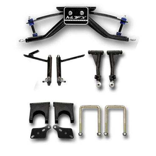 "MJFX Club Car DS 6"" A-Arm Lift Kit (For Carts with Steel Dust Covers)"