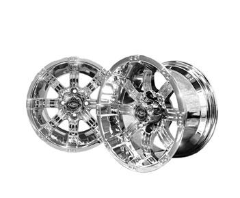 12x7 MJFX Chrome Octane Wheel